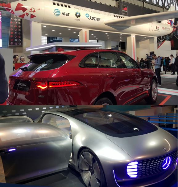 Coches y avion MWC16
